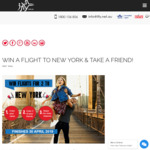 Win Return Flights to New York for 2 Worth $4,000 from iFly