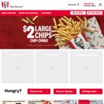 KFC $4.95 Original Recipe Fill up (App Exclusive)