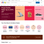 5% off Eligible Items ($70 Min Spend, $300 Max Discount) @ eBay
