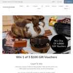 Win 1 of 5 $100 Vouchers from Stitch & Hide