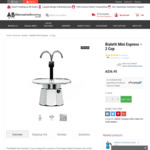 Bialetti Mini Espresso Maker 2 Cup - $33.90 + $9.95 Shipping @ Alternative Brewing