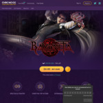 [PC] Bayonetta 1 for $4.80 USD / $6.88 AUD on Chrono.gg