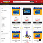 25% of Century Batteries (Exc 4wd) - Century ISS Battery Q85, 650CCA $351.75 @ Supercheap Auto