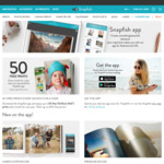 50 Free Photo Prints Per Month for 12 Months ($2.95 Delivery) Via Snapfish App