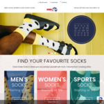 Free Shipping on All Orders (No Minimum Spend) @ Down Under Socks