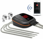 Inkbird BBQ Thermometer IBT-4XS Rechargeable $59.27 Delivered (24% off) @ Inkbird eBay