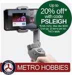 DJI Osmo Mobile 3 $127.99 + Delivery (Free with eBay Plus) @ metrohobbies via eBay
