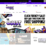 Click Frenzy Sale (D&D Vault of Dragons $50 RRP $80, Luxor $40.00 RRP $70) Free Shipping 2 or More Items @ The Quest Suppliers