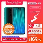 Xiaomi Redmi Note 8 Pro - Global Edition - 6GB/64GB - US $186.99 (~AU $275) Delivered @ Xiaomi AliExpress