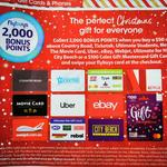 2,000 Flybuys (Worth $10) with $50 Gift Cards - eBay, Netflix, Uber, Ticketek, $100 Coles Mastercard + More @ Coles