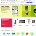 eBay Mega-Weekend: Pay $1.10 When You Sell