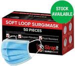 Strapit Surgical Face Masks 50 Pack $69.99 Delivered @ Chemist Warehouse (Online Only)