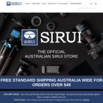 15% off on Tripod Range at Sirui Australia