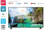 "Kogan 70"" Smart HDR 4K UHD LED TV Android TV Series 9, XU9210 $1099 (Was $1499.99) + Delivery @ Kogan"