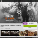 [PC] Dying Light: The Following – Enhanced Edition $25.69, Frostpunk - Standard Edition $13.99 (DRM Free) @ GOG