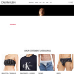 40% off Sitewide (Some Exclusions) @ Calvin Klein