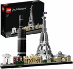 LEGO Architecture Skyline Collection 21044 Paris Skyline $68.88 Delivered ($79.99 RRP) @ Amazon AU