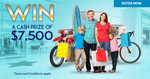 Win a Cash Prize of $7500 from Insure Me For Life