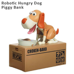 Robotic Hungry Eating Dog Coin Piggy Bank $14.99 + Shipping