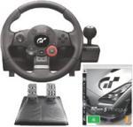 PS3 Logitech Driving Force GT Wheel + GT5 Prologue for $178