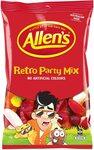 Allen's Retro Party Mix Bulk Bag Lollies 1kg - $7.89 + Delivery ($0 w/Prime or $39 Spend) @ Amazon AU
