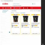 ½ Price Connoisseur Australian Native Collection 470ml Ice Cream Tub $5 (RRP $10) @ Coles