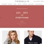 60-80% off Sitewide @ Toorallie