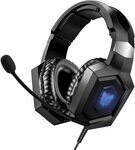 ONIKUMA K8 Gaming Headsets with Noise Cancelling Microphone $32.19 Delivered @ Youngpioneer Amazon AU