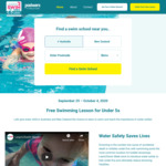 Free Swimming Lesson for Children Under 5 (National Learn2Swim Week, Sept 25 to Oct 4)