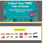 [QLD, SA] Free Pair of Socks When Spending $20 at Drakes with 1 Participating Product