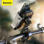 Baseus Bike Motorcycle Phone Holder Rear View Mirror Handlebar Stand Mount A$15.98 Delivered @ eSkybird