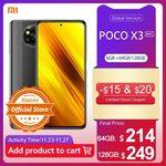Xiaomi Poco X3 NFC 6GB 128GB US$259.90 (~A$357.89) Shipped @ Xiaomi Official Store AliExpress