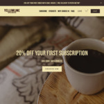 20% off Freshly Roasted Coffee Beans (Australia Wide) @ YellowLineCoffee