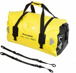 Wild Heart Motorcycle Waterproof Duffel Bag 66L Yellow with Binding Rope $74.32 Shipped @ WILD HEART via Amazon AU