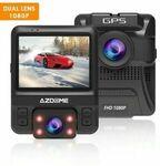 AZDOME GS65H Car Dual Lens GPS 1080P Front + Rear $139.95 Shipped @ Technex via eBay