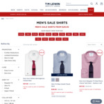 Men's Shirts from $29.95 + $20 Delivery @ TM Lewin