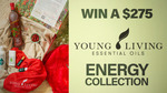 Win 1 of 2 Young Living Energy Collection Packs Worth $275 from Seven Network