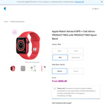 Apple Watch Series 6 Cellular Product RED 40mm - $699 (Was $749) @ Telstra