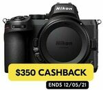 [eBay Plus] Nikon Z5 Body $1,608.85 Delivered ($1258.85 after Nikon Cashback) @ Ryda eBay