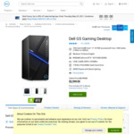 Dell G5 Gaming Desktop PC with RTX 3070 & Intel i7-10700F CPU $2,231 Delivered @ Dell