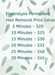 [NSW] Electrolysis Hair Removal 15 Minutes $30 @ Complete Skin Care Revesby