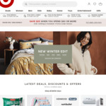 Get $20 off for $80 Spend on Kids Clothing and Footwear @ Target