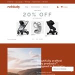 20% off Sitewide on Prams, Strollers, Carriers + Delivery @ Redsbaby