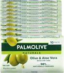 Palmolive Naturals Olive & Aloe Vera Bar Soap 10 x 90g (Min 2) $3.49 ($3.14 Sub & Save) + Delivery ($0 with Prime) @ Amazon AU