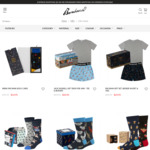 Up to 50% off Father's Day Gift Boxes (Socks, Boxers, Tees) $54.95 to $24.95 + $5 Shipping ($0 with $60 Order) @ Bamboozld