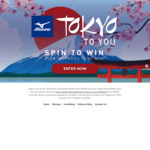 Win 1 of 107 Mizuno Products (Shoes, Backpacks, Socks etc.) from Mizuno