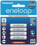 Panasonic Eneloop AAA 4pk Batteries $14.95 + Delivery ($0 with Prime/ $39 Spend) @ Amazon AU
