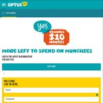$10 Movie Tickets for Optus Customers
