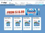 Finish Powerball Tablets - 1-Day - 114pk - $16.99 + $5.99 Shipping