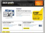 OLYMPUS FE-320 8.0 MegaPixel Camera only $198